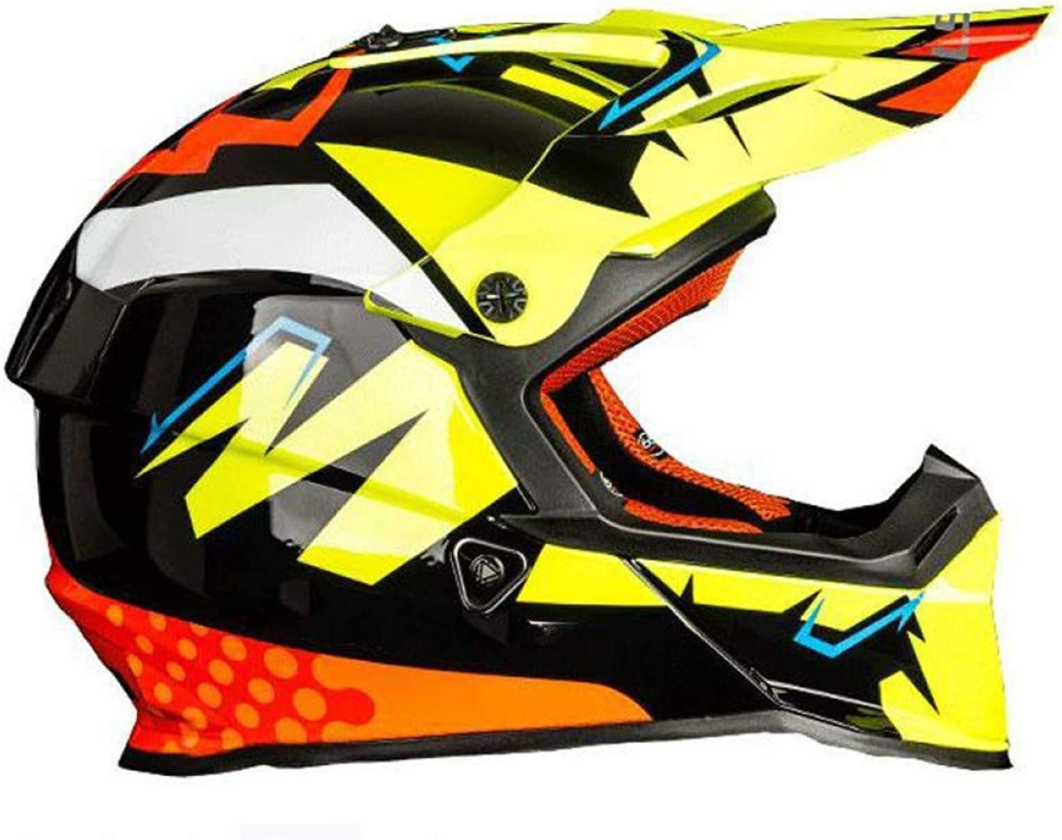 New Professional Motorcycle OffRoad Helmet UltraLight Material