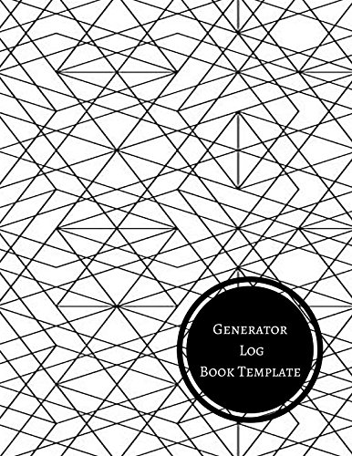 Generator Log Book Template: Generator Maintenance Log