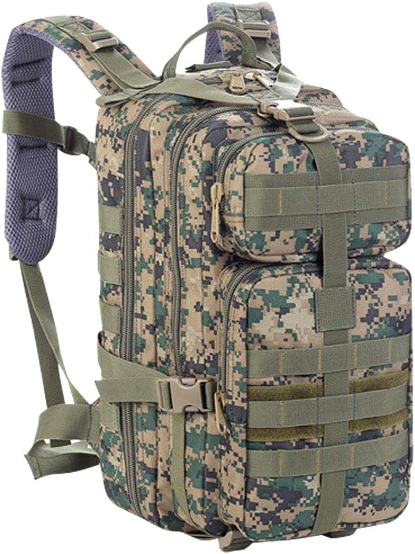Tracker Outdoor Mountaineering Camouflage Bag Large Capacity CS Shoulder Shoulder Bag