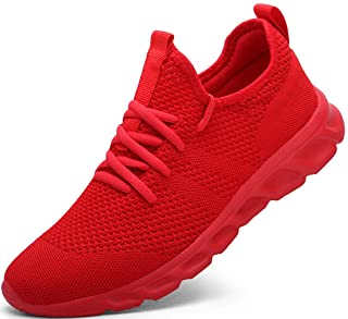 Femme Chaussures de Running pour Course Sports Fitness Respirant Mesh Gym Outdoor Trail Jogging Walking Tennis Baskets ath...