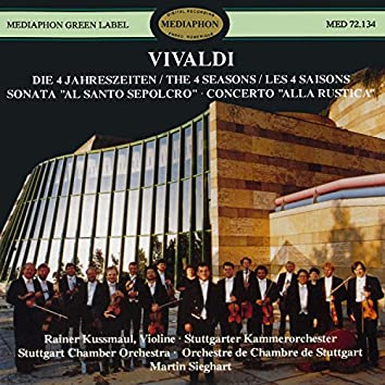 "Vivaldi: The Four Seasons, Sinfonia ""Al Santo Sepolcro"" & Concerto ""Alla Rustica"""
