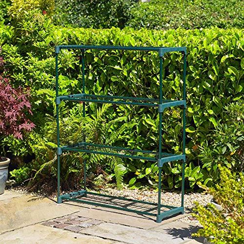 Kingfisher ghstage 4Regal Gewächshausregal, grün