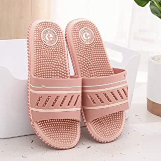 Massage Slipper Non-Slip Indoor Home Shoes Open Toe Flip Flops Fitness Foot Massager Sandal Casual Women Slipper Pain Relief Therapy Couple Slider Beach Sandal (Color : E, Size : 26cm(10.24inch))