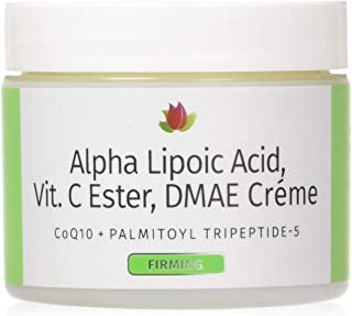 Reviva Labs Alpha Lipoic Acid Vitamin C Ester and DMAE Cream -- 2 oz
