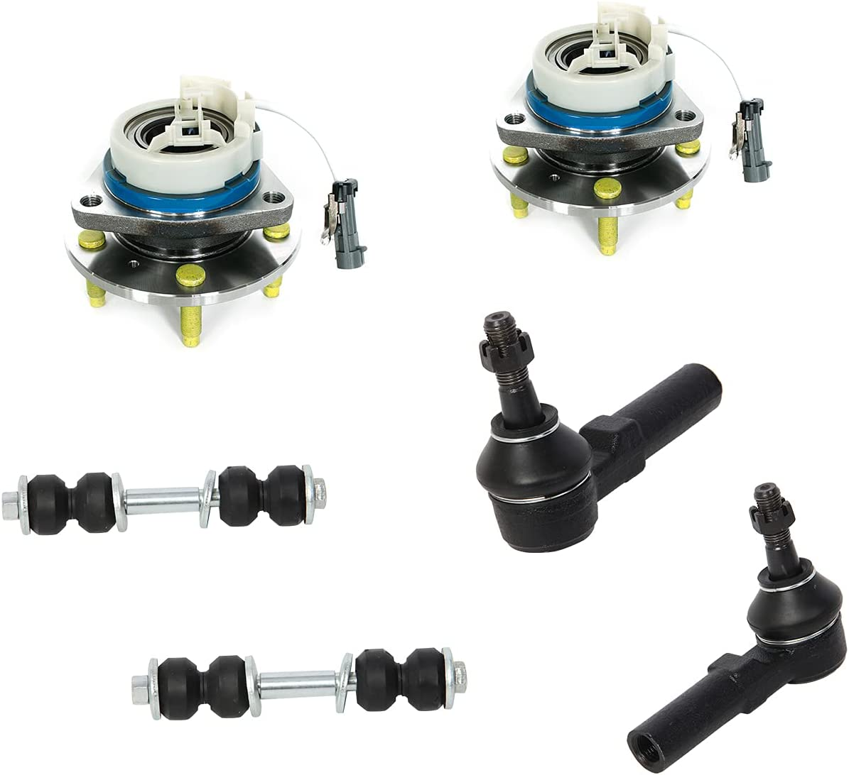 Motorman 6pc 2x513121+2x K5255+2xES3452 High quality Ranking integrated 1st place outer tie hu rods wheel