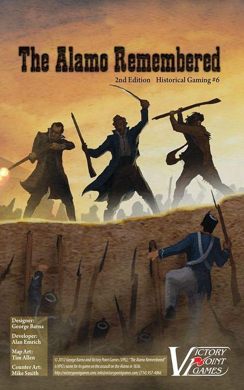 Wargame The Alamo Rememberot 2nd Edition (Boxed Edition) B07GTP5P1P Genialität  | Hohe Qualität und günstig