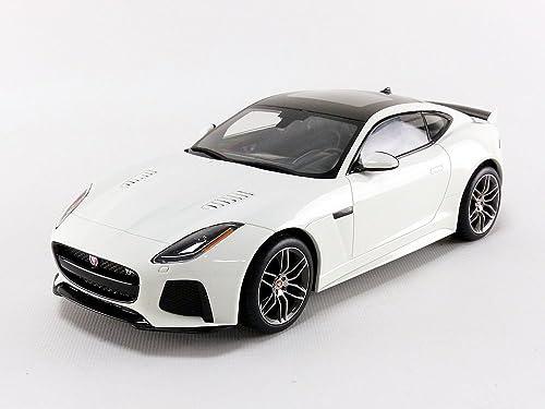 TOP SPEED Jaguar F-Type Svr Coupe - 2016 Voiture Miniature, TS0042, Blanc