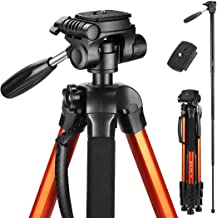 Victiv 72-inch Tall Tripod for Camera, Durable Aluminum Stand Lightweight Monopod for..