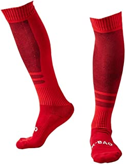 Men's Sports Athletic Compression Football Soccer Socks Over The Knee High Socks