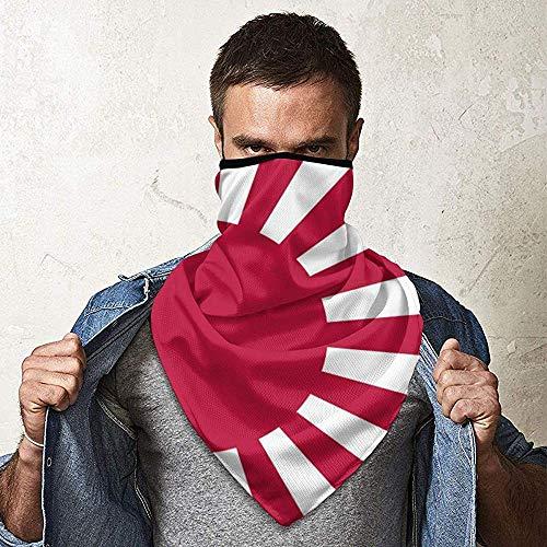 WCUTE Impérial Japonais Soleil Levant Drapeau Magique Chapeaux Foulard Bandanas Moto Bandeaux Tube Écharpe Cou Guêtre Chapeaux