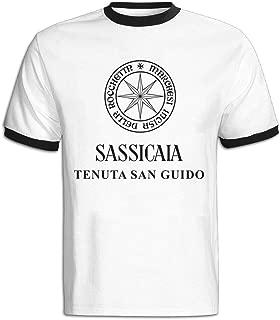 Men's Tenuta San Guido Bolgheri Sassicaia1Printed T-shirt