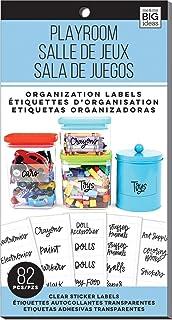 Me & My Big Ideas Me And My Me And My Big Ideas Storage Labels-Playroom, 82/Pkg,