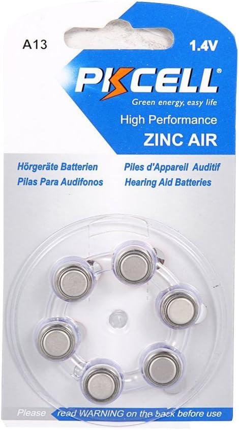 48 X Varta Ecopack Hearing Aid Batteries Hearing Aid Batteries PR48 Zinc-Air 13