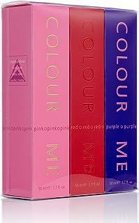 Colour Me Pink/Purple/Red Fragrance For Women, 50 ml Eau De Toilette