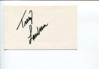 Tracy Lawrence Country Music Singer Signed Autograph