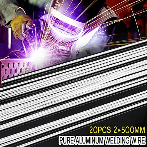 Best Prices! Kamas 20pcs 2.0500mm Low Temperature Aluminum Solder rod Welding Wire Flux Cored Solder...