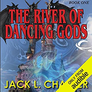 The River of the Dancing Gods audiobook cover art