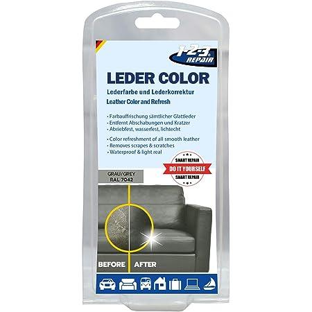 Repair 123repair Lederfarbe Ledercouch Wie Neu Lederfärbemittel Grau 57ml Küche Haushalt