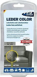 123REPAIR Leather Leatherette Dye Paint Color Colorant Vinyl Dye Grey 50ml