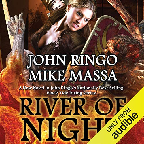 Page de couverture de River of Night