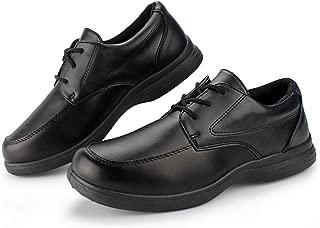 black uniform shoes