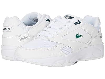 Lacoste Storm 96 LO 0120 3 SFA (White/Dark Green) Women