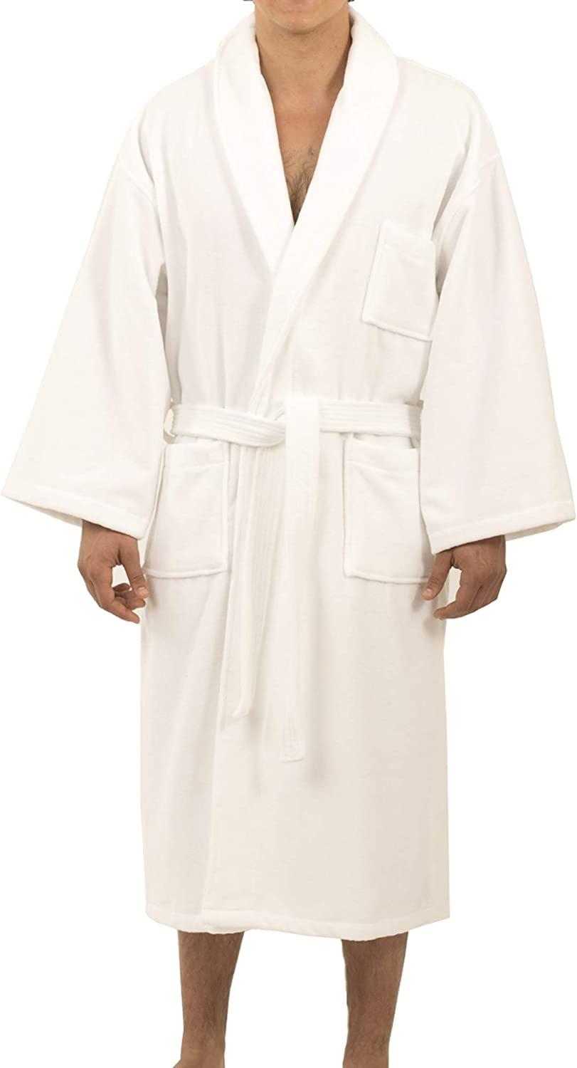 Alpine Swiss Aiden Mens Cotton Japan's largest assortment Terry Collar Manufacturer direct delivery Bathrobe Cloth Shawl