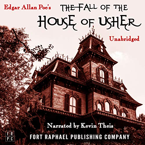 The Fall of the House of Usher - Unabridged audiobook cover art