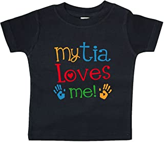 My Tia Loves Me Gift Baby T-Shirt