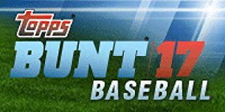 2017 Topps Bunt Baseball Hobby Box (36 Packs of 7 Cards: 36 Inserts, 35 Parallels, 1 Black Parallel)