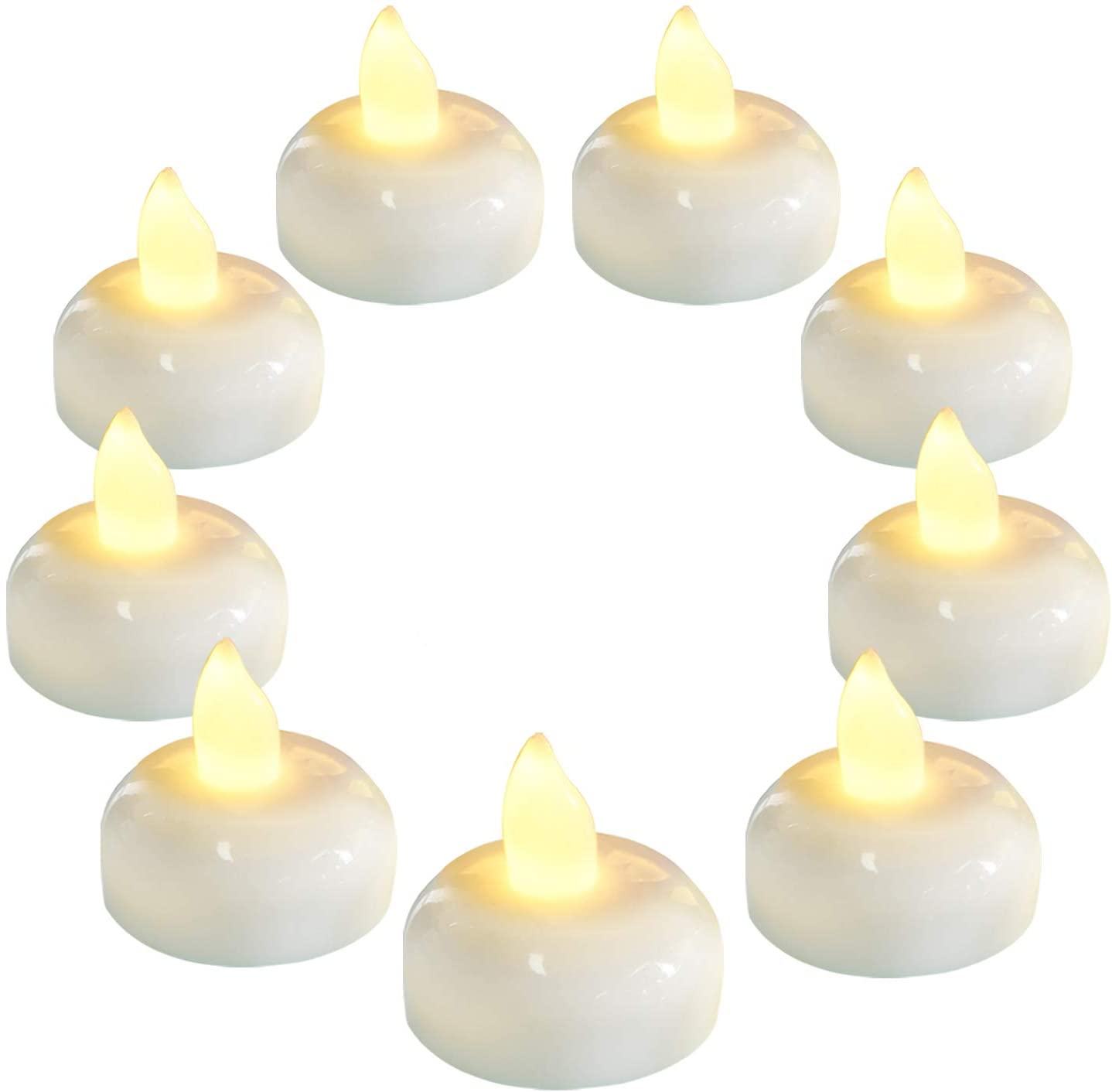 Homemory Animer and price revision 36 Pack Flameless Floating Warm White Flic Candles Led Minneapolis Mall