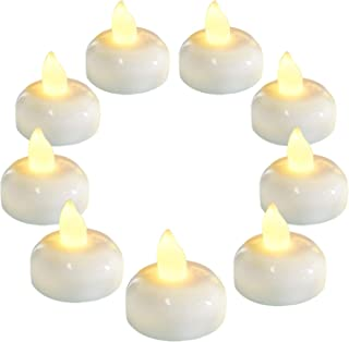 floating led tea light candles