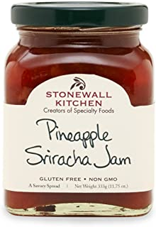 Stonewall Kitchen Pineapple Sriracha Jam, 11.75 ounces