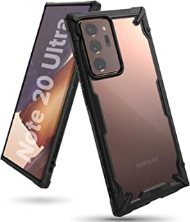 Ringke Cover for Samsung Galaxy Note 20 Ultra Case Hard Fusion-X Ergonomic Transparent Shock Absorption TPU Bumper [ Desig...