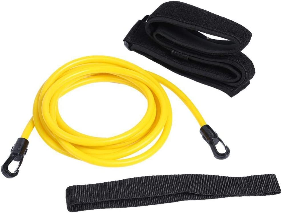 ANGOU Swimming Training Resistance Elastic Rope Swim Translated Special Campaign Safety Band