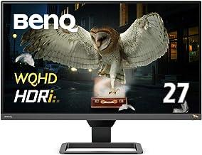 BENQ EW2780Q 27''IPS QHD 2K 2xHDMI+DP 8 bit%99sRBG TreVolo Spe. 2x5W HDRi Eğlence