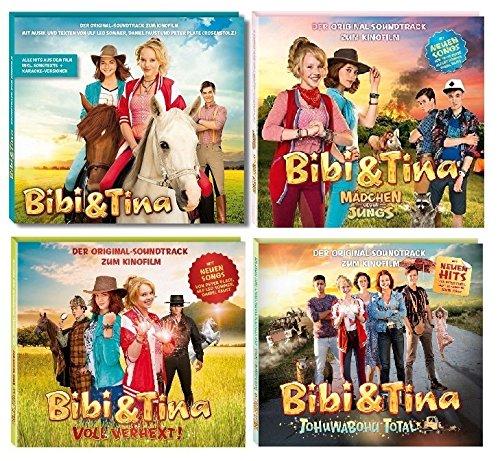 Bibi & Tina - Original Filmmusik/Soundtrack 1-4 zum Kinofilm im Set - Deutsche Originalware [4 CDs]