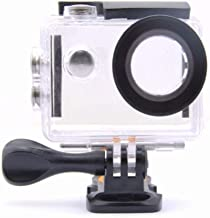 VVHOOY Action Camera Waterproof Case Compatible with AKASO EK5000 EK7000& Plus/EKEN H9R/AOKON/DBPOWER EX5000/FITFORT/Zonko/DROGRACE WP350 Sports Cam Underwater 30M Protective Housing Case Accessories