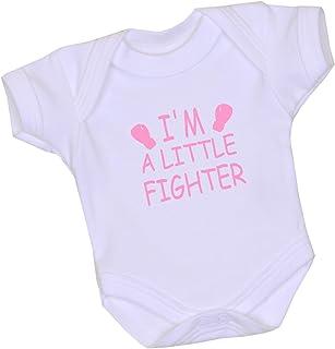 """Babyprem Frühchen Body Frühgeborene Strampler Baby Kleidung 38-50cm I""""m a Little Fighter"""