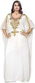 فستان طويل للنساء للحفلات بقياس واحد من كوك قفطان