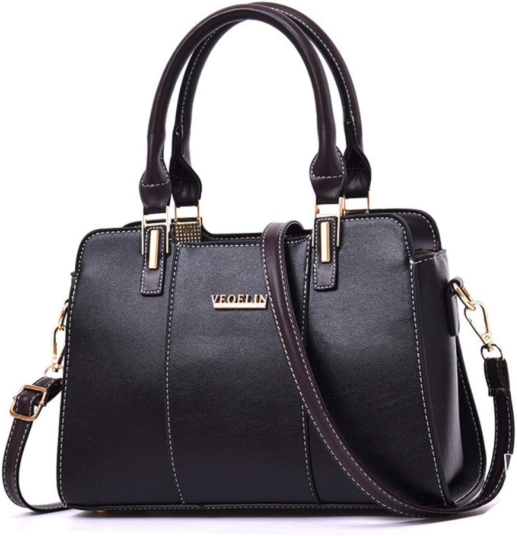 Umhängetasche Frauen Mode Mode Mode Nähen Handtasche Schultertasche Damen Messenger Bags Neue Freizeitaktivitäten Pendler Paket Vintage Einfache Top-Handle Tasche B07NY83D6M  Kostengünstig e472d4