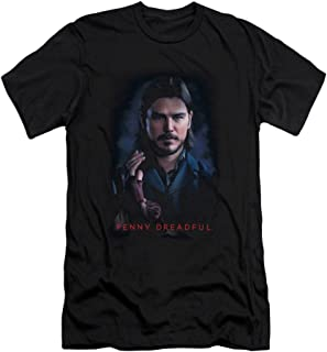 Penny Dreadful Ethan Slim Fit Unisex Adult T Shirt for Men and Women