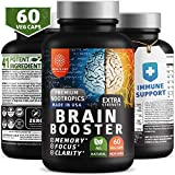 Best Energy Pills For Focuses - N1N Brain Supplement Nootropics Booster [Immune Support, 2x Review