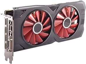 XFX RS Black RX 570 OC 4GB DDR5 3xDP HDMI DVI w/Custom Backplate RX-570P4DFDR