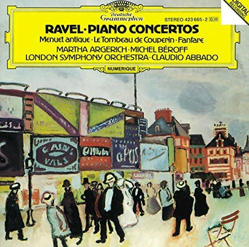 Michel Beroff, Martha Argerich, London Symphony Orchestra, Claudio Abbado & Maurice Ravel