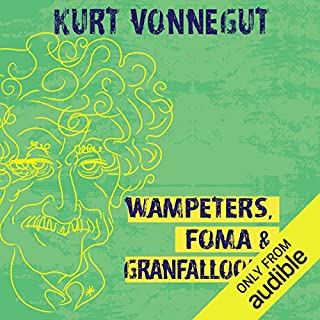 Wampeters, Foma & Granfalloons audiobook cover art
