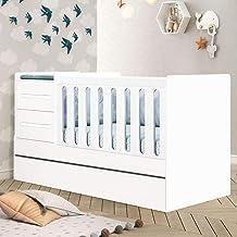 Berço Multifuncional Premium Branco - Planet Baby