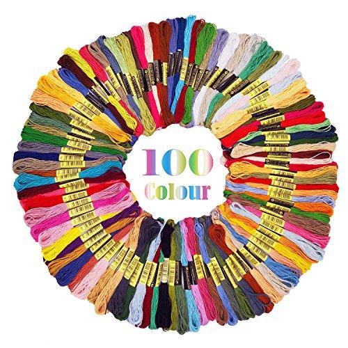 Embroidery Floss Cross Stitch Thread -...