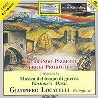 Musica Del Tempo Di Guerra Wartime's Music: Locatelli(Pf)