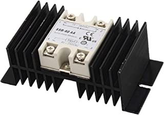 New Lon0167 SSR-60AA 60A Featured AC80-220V For UAE reliable efficacy Input AC24-380 ν Output 4 Screw Terminal Single Phas...